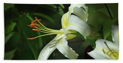 Asiatic Lily No 4 Hand Towel