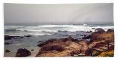 Asilomar Beach Pacific Grove Ca Usa Bath Towel by Joyce Dickens