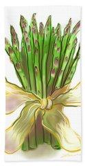 Asparagus Bouquet Hand Towel