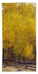 Aspen Fall 2 Bath Towel by Marty Koch
