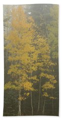 Aspen In The Fog Hand Towel