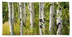 Aspen Trees Hand Towel