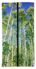 Aspen Twin Perspectives Bath Towel