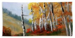 Aspens En Plein Air Bath Towel
