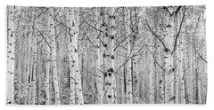 Aspens In High Key Hand Towel