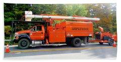 Asplundh Tree Expert Company Trucks Bath Towel