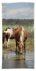 Assateague Pony Pair Bath Towel