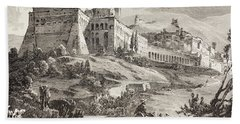 Assisi, Italy In The Late 19th Century Bath Towel