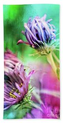 Asters Gone Wild 2 Hand Towel