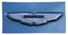 Aston Martin Hand Towel by Scott Carruthers