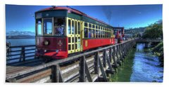 Astoria Riverfront Trolley Hand Towel