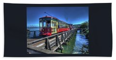 Astoria Riverfront Trolley Bath Towel