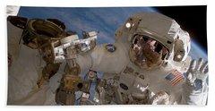 Astronaut Clay Anderson Hand Towel