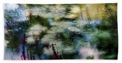 At Claude Monet's Water Garden 2 Hand Towel