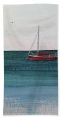 At Rest Bath Towel by Wendy Shoults