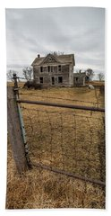 Bath Towel featuring the photograph At The Gate  by Aaron J Groen