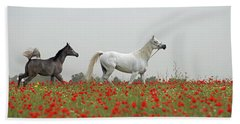 At The Poppies' Field... Hand Towel