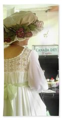 At The Sweet Shoppe Hand Towel by Margie Avellino
