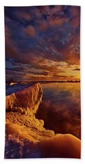Hand Towel featuring the photograph At World's End by Phil Koch