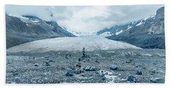 Athabasca Glacier Vanishing Act Bath Towel