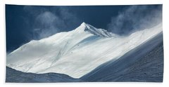 Bath Towel featuring the photograph Atigun Pass In Brooks Range by Cheryl Strahl