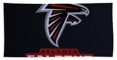 Atlanta Falcons Man Cave Atlanta Georgia Art Bath Towel