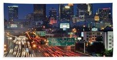 Atlanta Heavy Traffic Bath Towel