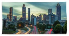 Hand Towel featuring the photograph Atlanta by RC Pics