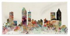 Atlanta Skyline Hand Towel