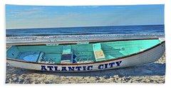 Atlantic City Rowboat Bath Towel