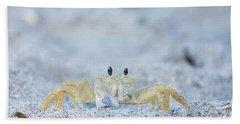 Atlantic Ghost Crab Hand Towel