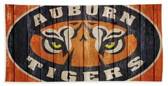 Auburn Tigers Barn Door Hand Towel