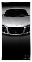 Audi R8 Sports Car Bath Towel