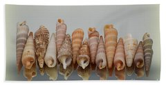 Bath Towel featuring the photograph Auger Shells by Patti Whitten
