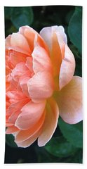 Hand Towel featuring the photograph August Rose 09 by Joyce Dickens
