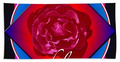 August Rose Hand Towel