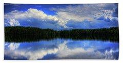 August Summertime On Buck Lake Hand Towel