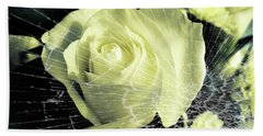 Aunt Edna's Rose Hand Towel