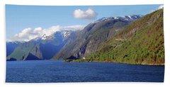 Aurlandsfjord Hand Towel