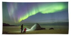 Aurora Photographers Hand Towel by Alex Conu
