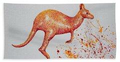 Aussie Roo Bath Towel