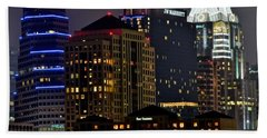 Austin Up Close Hand Towel by Frozen in Time Fine Art Photography