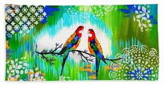 Australian Hand Towel by Cathy Jacobs