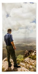 Australian Explorer Sightseeing Mt Zeehan Bath Towel