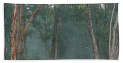 Australian Morning Hand Towel by Evelyn Tambour