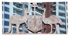 Australia's State Emblem Bath Towel