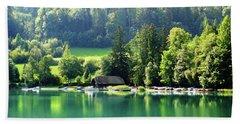 Austrian Lake Hand Towel