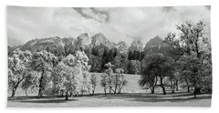 Bath Towel featuring the photograph Austrian Landscape by Brooke T Ryan