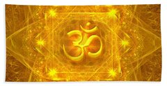 Authentic Om  Bath Towel