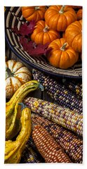 Autumn Abundance Bath Towel